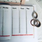 futur log : exemple avec washi tape Toga