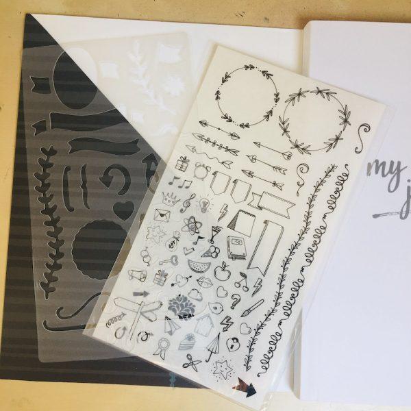 my-creative-journal-pochoir